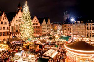 Feste in Frankfurt: Weihnachtsmarkt auf dem Römer